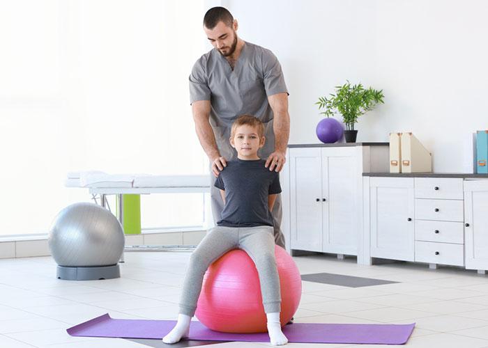 Séances d'ostéopathie pour les enfants